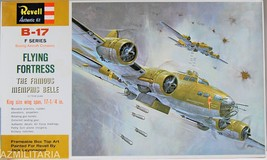Revell Boeing B-17 F Series Flying Fortress 1/72 Scale Kit No. H-201 - $34.75