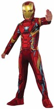 Iron Man Captain America Civil War Superhero Fancy Dress Halloween Child Costume - $38.53