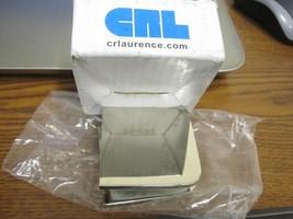 CRL UC77PN Polished Nickel Fixed Panel U Clamp - $18.81