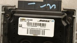 Nissan 350z Z33 BOSE Amplifier 28060-cd400 Amp Stereo Receiver Audio image 4