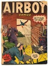 Airboy Comics Vol 5 #8 1948- Golden Age FAIR - $44.14