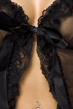 Sexy playwear BABYDOLL CON ABBINATO perizoma intimo lingerie biancheria intima image 3