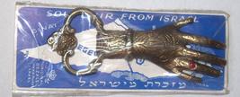 Hamsa Bottle Opener Bronze Vintage Israel Judaica Bezalel Jerusalem 1960's image 5