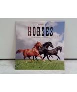 Horses 2015 12 Month Small Desk Calendar Wall Calendar  - $2.96