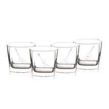 Cathy's Concepts Guitar Rocks Glasses Set of 4 - $48.36