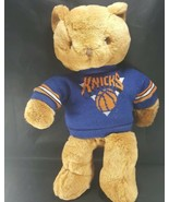 "NBA New York Knicks Roxbury Teddy Bear With Sweater Point 40 16"" Plush S... - $19.79"