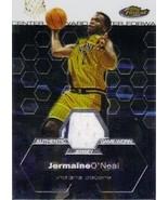 2002-03 Finest #133 Jermaine O'Neal Jersey /999 - $5.00