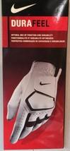 Nike Durafeel 2013 Men's Regular Left Xl Golf Glove - Up Your Game! White/Black - $9.92