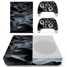 Xbox one S Slim Console Skin Vinyl Decals Stickers Glossy Glass Crystal Mirror - $12.80