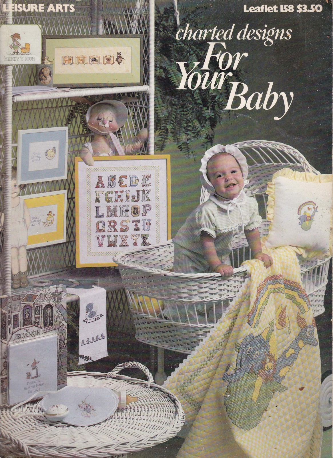 Charted Designs For Your baby (Needlecraft patterns) leisure Arts 1979
