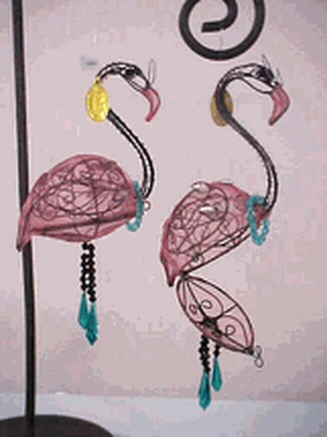 Primary image for Katherine's Collection one Flamingo candy box ornament