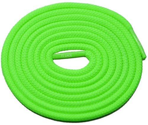 "Primary image for 54"" Neon Green 3/16 Round Thick Shoelace For All Men's 3/16 Round Thick Shoes"
