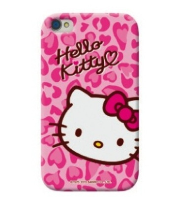 Primary image for Hello Kitty iPhone 5 Case: Pink Leopard...RETAIL $29.95