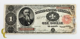 1891 US Treasury $1 Dollar Note (F+ to VF) Fine Plus to Very Fine Condition - $345.51
