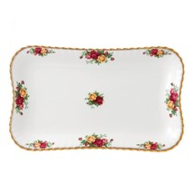 "Royal Albert Old Country Roses 13"" Tray NEW IN THE BOX  (S) - $56.09"