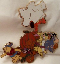DISNEY POOH & PALS HAUNTED HALLOWEEN JUMBO LE 500 PIN New On Card image 4