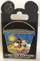 DISNEY MICKEY PAIL 2006 LE 1000 3D SURPRISE PIN NEW image 2