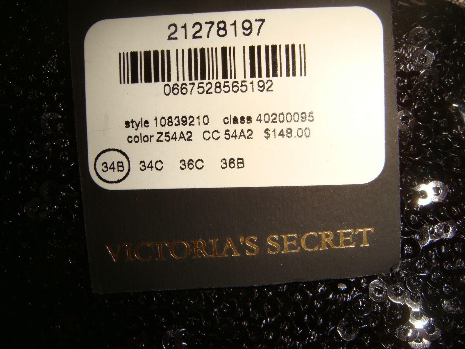 Victoria's Secret DESIGNER COLLECTION Pleasure State 34B BRA SET+CLUTCH Black