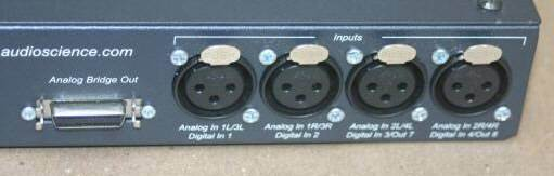 AudioScience XLR Breakout Box BOB1024 Digital Analog Audio BOB 1024 XLR