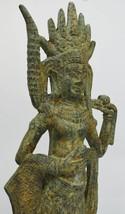 Asian Art /Khmer Angkor /Cambodian Buddha Statue Nang Teap Apsorn or Apasara - $259.00