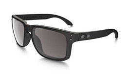 Oakley Holbrook Sunglasses, Matte Black Frame/Warm Grey Lens, One Size - $99.99