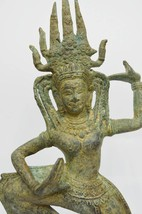 Asian Art /Khmer Angkor /Cambodian Buddha Statue Nang Teap Apsorn Dancing Style - $259.00