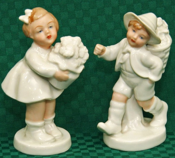 Primary image for GEROLD PORZELLAN ~ BAVARIAN / MADE IN GERMANY FIGURINES