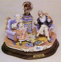 CAPODIMONTE Sweet Memories by Enzo Arzenton Laurenz Sculpture COA  Italy - $798.00