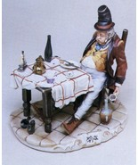CAPODIMONTE The Big Eater  by Enzo Arzenton Laurenz Classic Sculpture Italy - $596.00