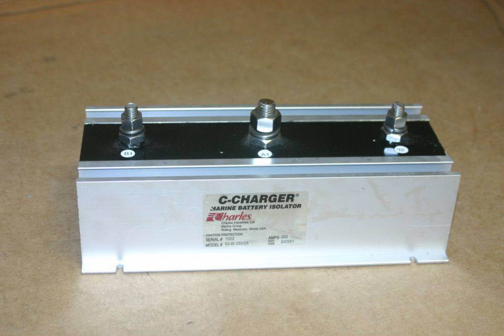 Charles C-Charger 250A Battery Isolator 93-BI250/2-A