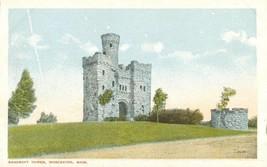 Bancroft Tower, Worcester, Mass early 1900s unu... - $4.99