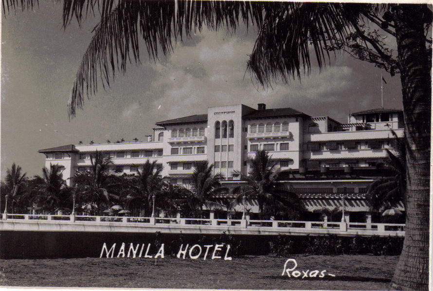 "Primary image for MANILA HOTEL 3"" x 2"" Black & White WWII Photograph"