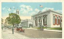 Court House, Hall of Records and Institute for Savings, Springfield, Mass  - $8.95