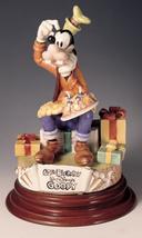 Disney  Goofy 60th Birthday Capodimonte Laurenz C.O.A. Original Box - $718.88