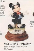 Disney Mickey Mouse 1955 Laurenz Capodimonte LE C.O.A. Original Box - $290.25