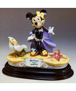 Disney Minnie Mouse at Beach Capodimonte Laurenz C.O.A. Original Box - $703.02