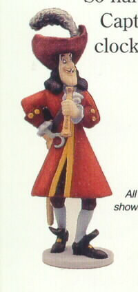 Primary image for Disney Peter Pan - Captain Hook standing by Robert Olszewski Goebel Miniature