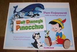 Disney Pinocchio Monstro Whale marked Walt Disney Production - $29.99