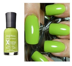 Sally Hansen Hard As Nails Xtreme Wear Nail Polish Color -# Green with E... - $3.98