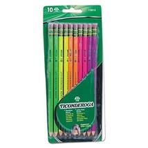 Dixon Pre-sharpened Pencil, Hb, #2, Assorted Color Barrels, 10/set #jfa - $10.29