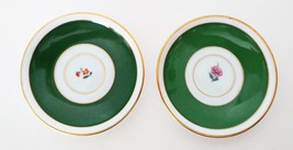 Green petite saucers made in germany two saucers - $0.98