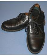 HS Trask Black Leather Shoes Mens Sz 11N 11 N H.S. - $20.07