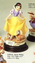 Disney Snow White Laurenz Capodimonte  C.O.A. Original Box - $550.00