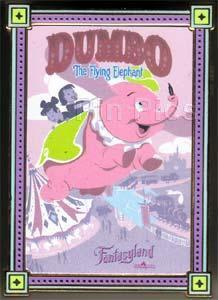 Primary image for Disney WDI - Cast Exclusive - HKDL - Fantasyland Attraction Poster Dumbo pin