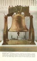 The Liberty Bell, Philadelphia, Independence Series No. 4 early 1900s postcard - $4.99