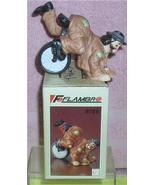 Emmett Kelly Jr. Upside Down circus clown Flambro Figurine MIB - $27.76