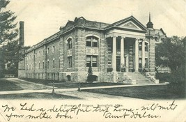 Museum of Science, Springfield, Mass 1907 used Postcard  - $5.99