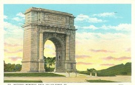 National Memorial Arch, Valley Forge, Pa 1931 used Postcard  - $3.99