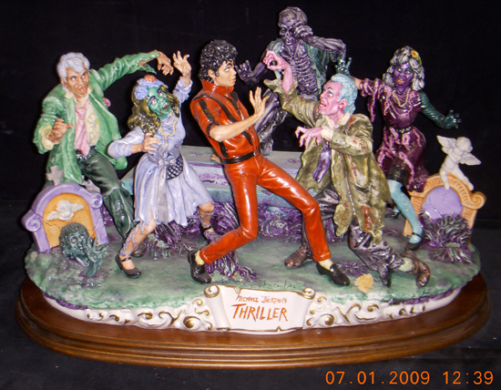 Primary image for Michael Jackson Thriller Capodimonte 1 of 6 ever made