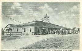 The Pavilion, Construction Quartermasters Headquarters, Camp Devens, Aye... - $5.99